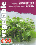 Microgreens - Mild  Mix Seeds