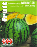 Watermelon - Yellow Baby Doll F1 Seeds