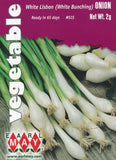 White Lisbon (White Bunching) Onion Seeds