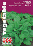Olympia Hybrid Spinach Seeds