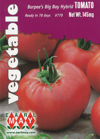 Burpee's Big Boy Hybrid Tomato Seeds