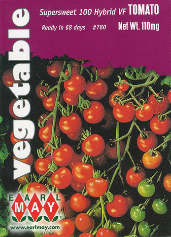 Supersweet 100 Hybrid VF Tomato Seeds
