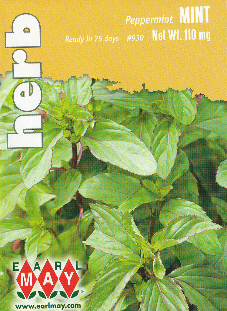 Peppermint Mint Herbs Seeds