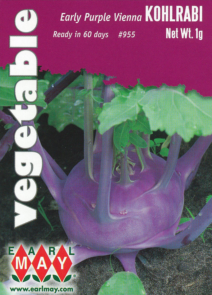 Early Purple Vienna Kohlrabi Seeds