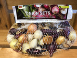 Onion Sets - Mixed Colors (Red, Yellow & White)