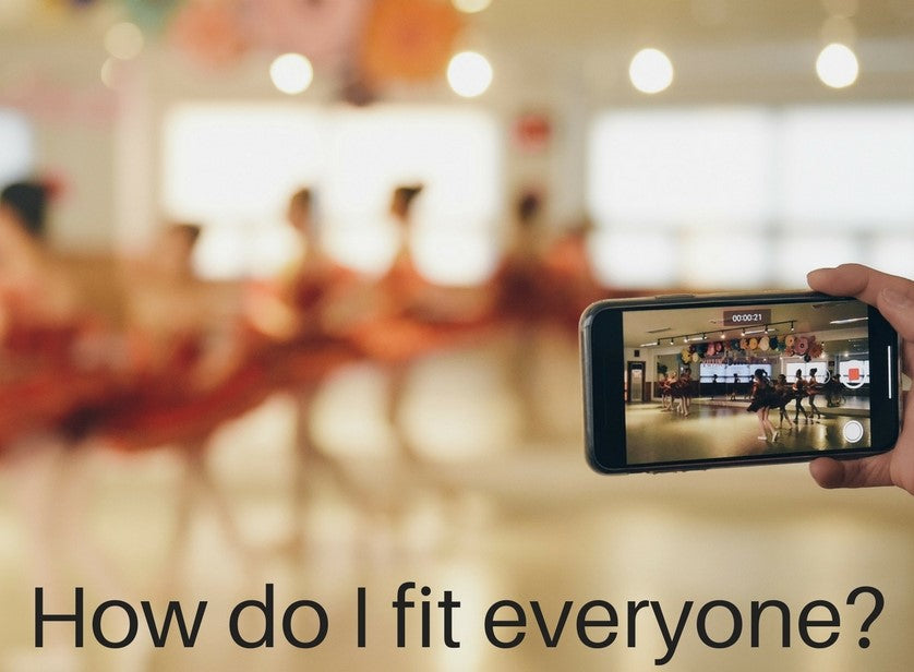 HOW TO FIT EVERYONE IN THE CLASS IN YOUR VIDEO CLIP
