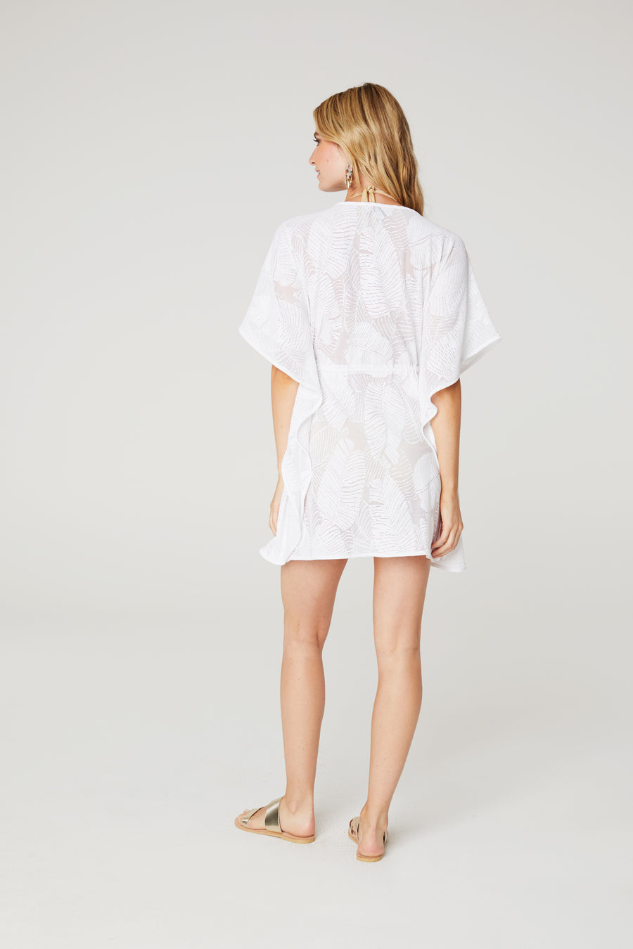 Palm Lace Coverup