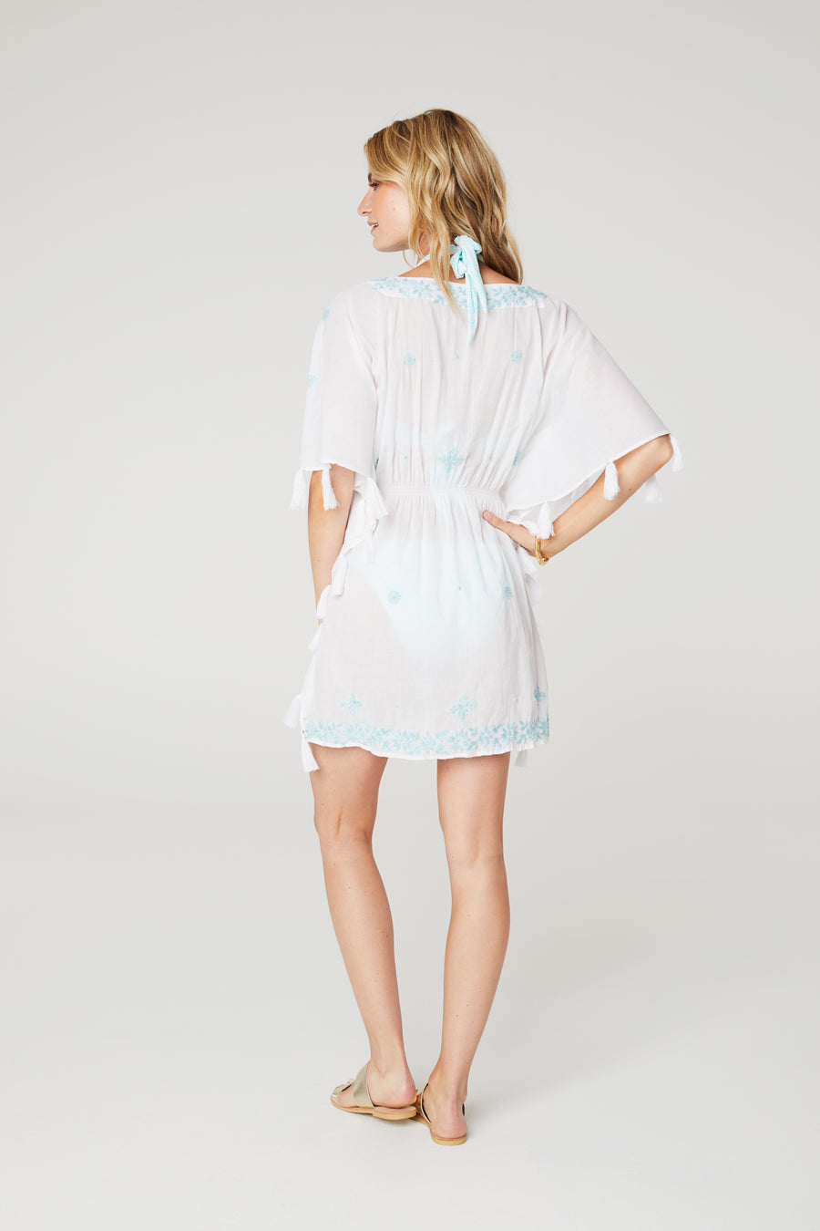 Popcorn Embroidered Tunic