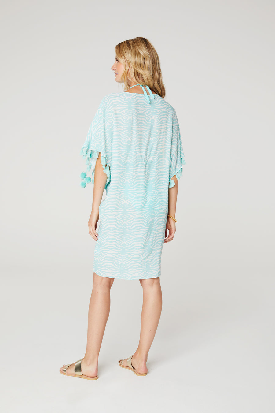 Coral Twist Front Cover-Up