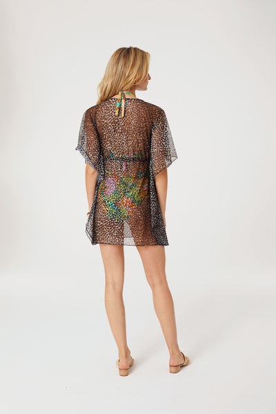 Leopard Luxe Coverup