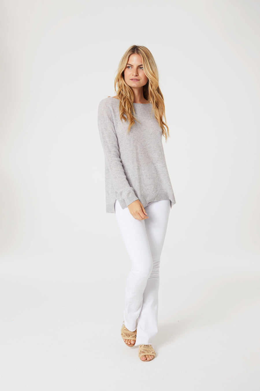 Cashmere Palm Sweater