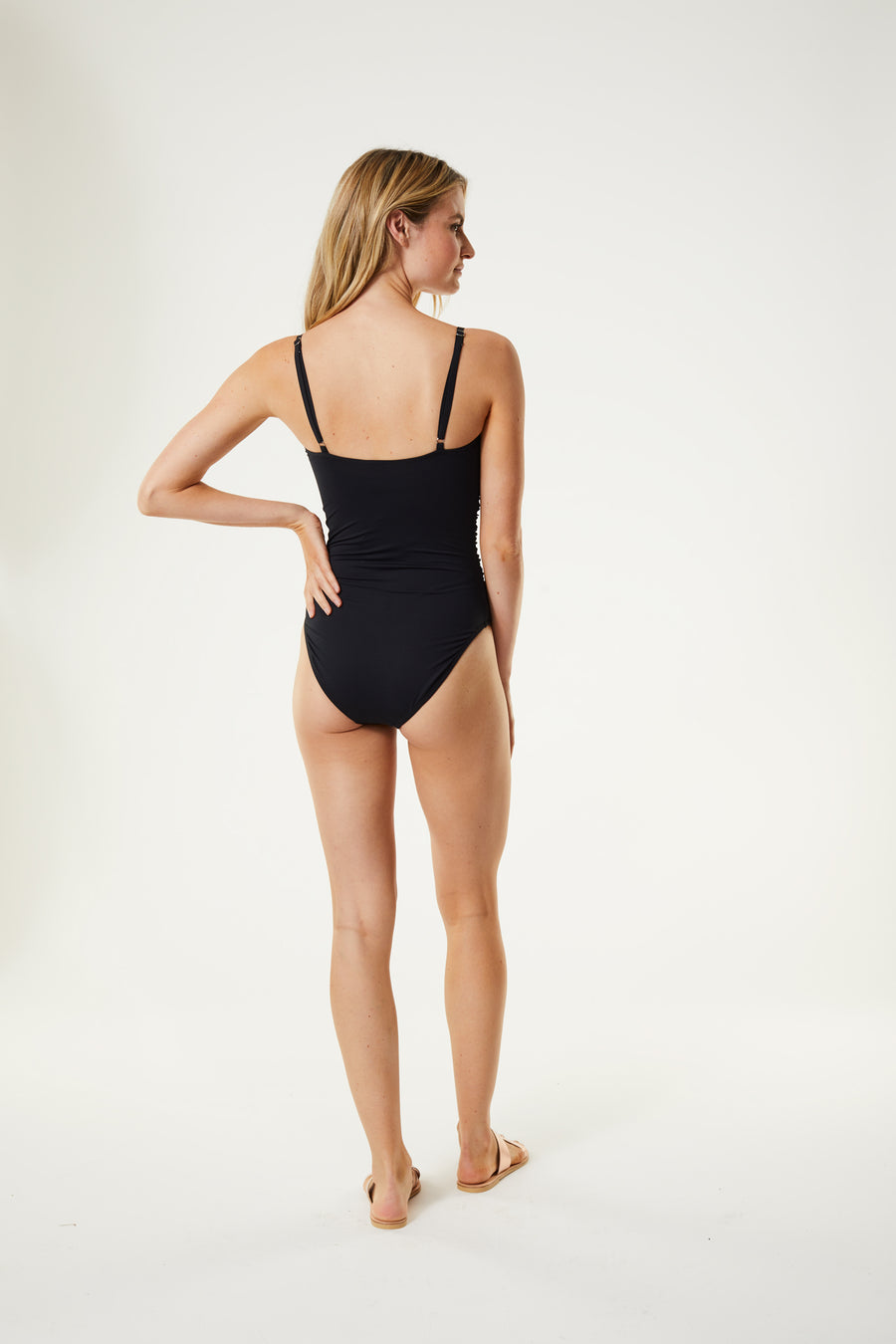 Ruched One Piece