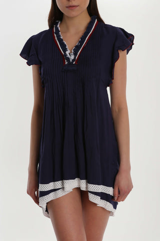 La Playa Pleated Dress