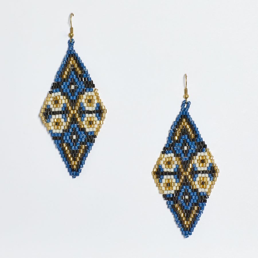 Beaded Reef Earring