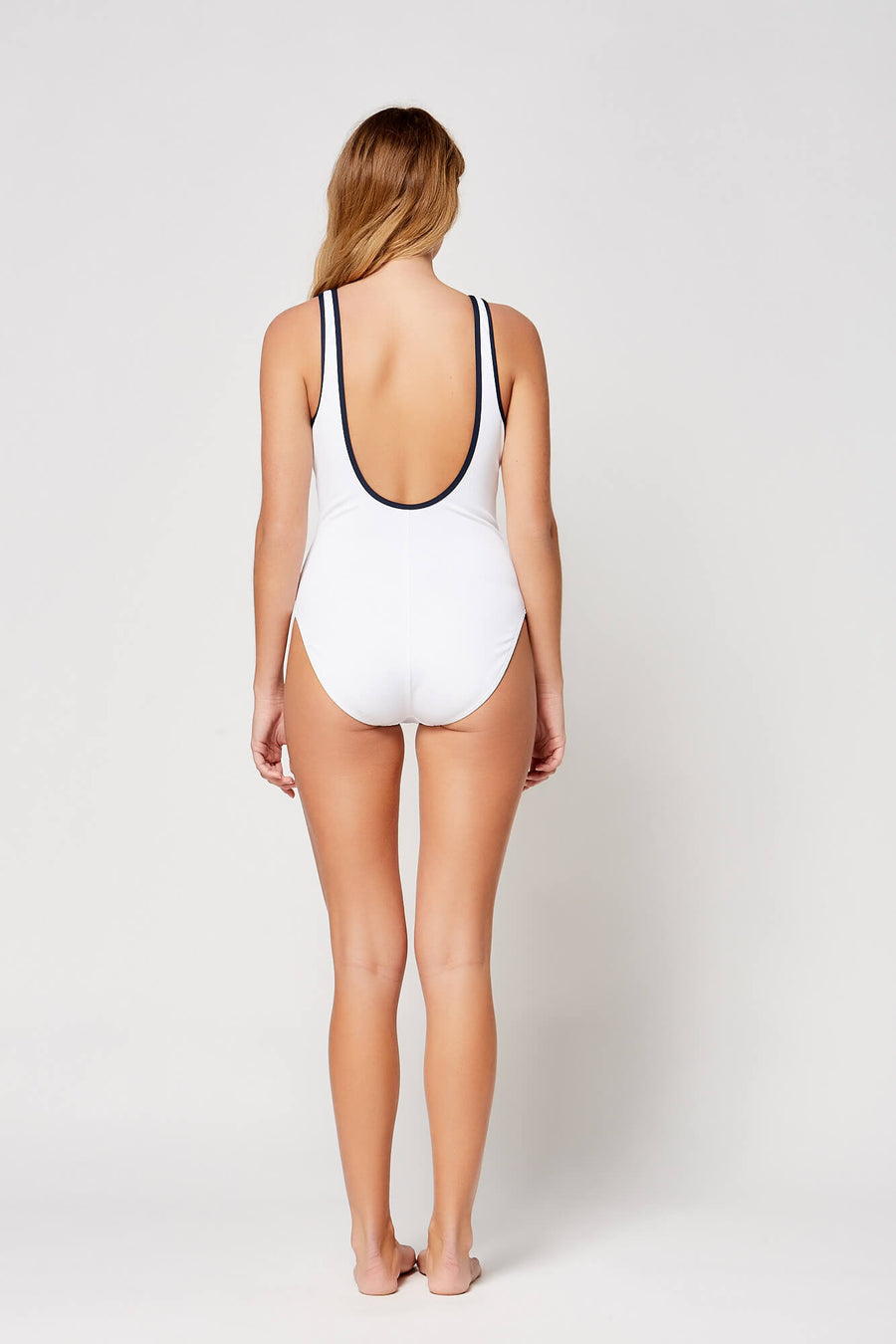 Piped Pique One Piece