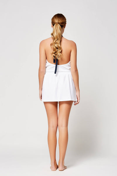 Strappy Halter Dress