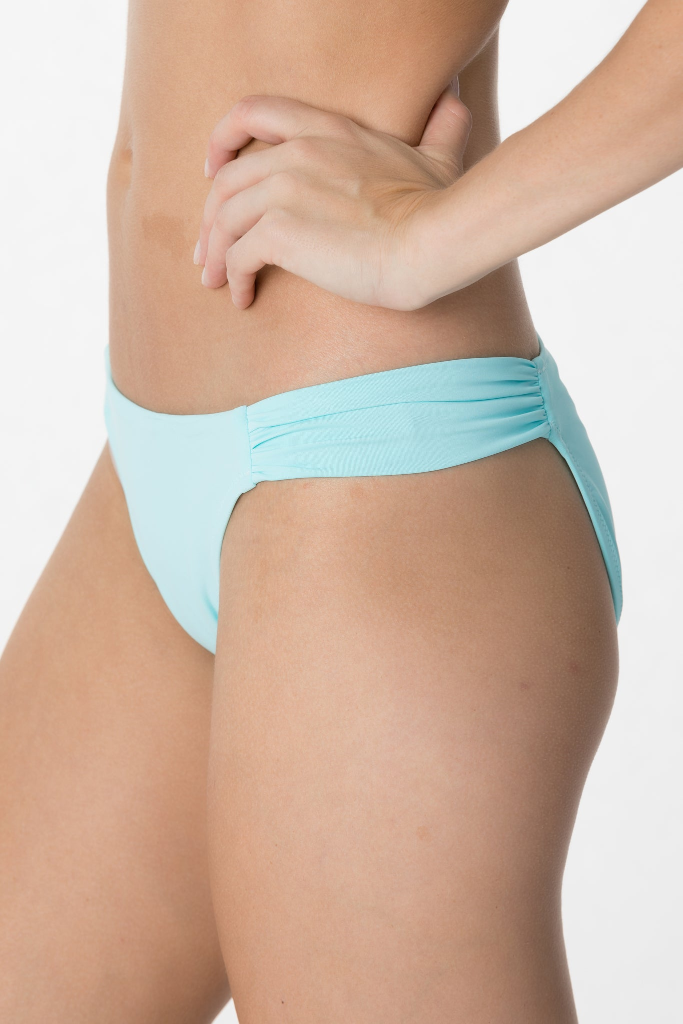 Medium Coverage Ruched Bottom