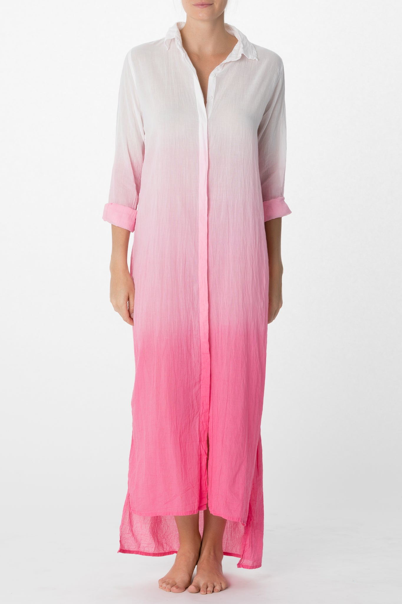 Button Front Caftan
