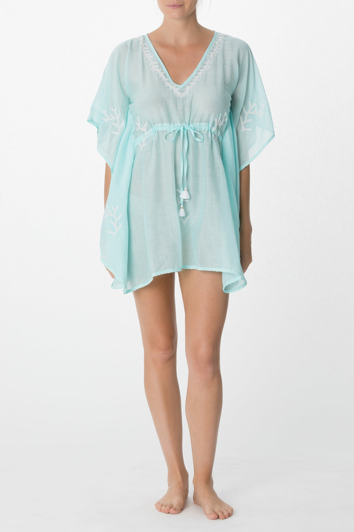 Embroidered Coverup