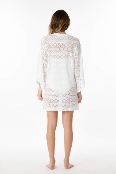 Lace V-Neck Tunic
