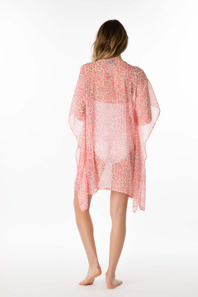 Embroidered Leopard Lily Tunic