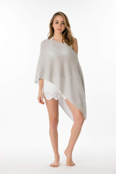 Solid Cashmere Topper