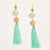 Sea Glass Drop Earring