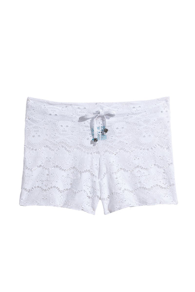 Robert Graham Collection Skull Lace Shorts