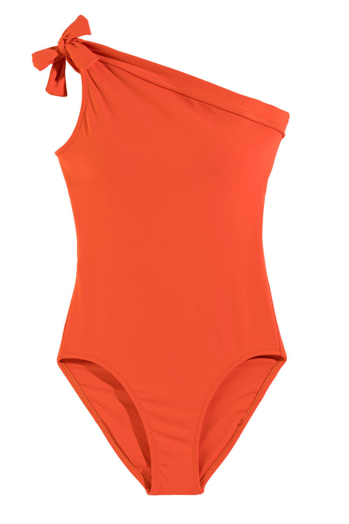 One-Shoulder One Piece Swimsuit