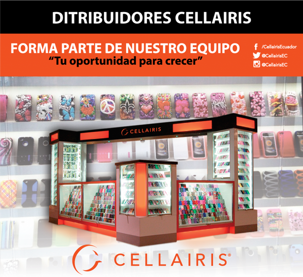 Venta al por mayor Cellairis en Ecuador