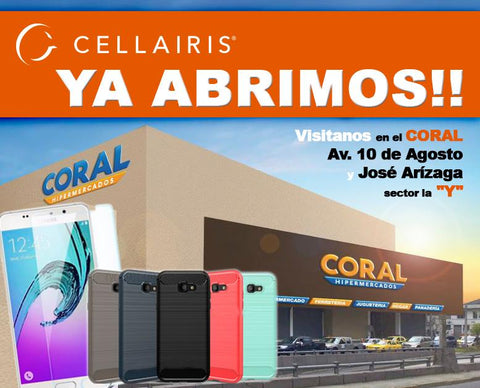 Cellairis Coral de la Y Quito