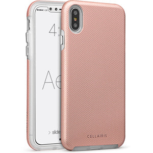 iPhone XS Max - Aero Grip Rose Gold 33-0188003 - Accesorios y repuestos Celular Cellairis