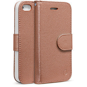 Estuche iPhone 5S/SE - Agenda Madison Duo dorado rosa 39-0025017 - Accesorios y repuestos Celular Cellairis