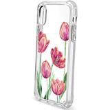 IPHONE XR - SHOWCASE CLEAR FLORAL TULIP 40-0007014 - Accesorios y repuestos Celular Cellairis