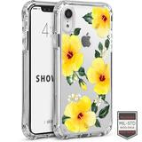 IPHONE XR - SHOWCASE CLEAR FLORAL HIBISCUS 40-0007016 - Accesorios y repuestos Celular Cellairis