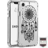 IPHONE XR - SHOWCASE CLEAR HENNA DREAMCATCHER BLACK 40-0007019 - Accesorios y repuestos Celular Cellairis