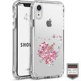 IPHONE XR - SHOWCASE CLEAR HEART BREAK 40-0007027 - Accesorios y repuestos Celular Cellairis