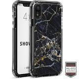 IPHONE XR - SHOWCASE BLACK MARBLE GALAXY BLACK 40-0007044 - Accesorios y repuestos Celular Cellairis