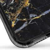 IPHONE XR - SHOWCASE BLACK MARBLE ONYX BLACK 40-0007048 - Accesorios y repuestos Celular Cellairis