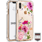 iPhone XS Max - Showcase Clear Floral Dahlia 40-0008004 - Accesorios y repuestos Celular Cellairis