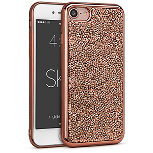 Estuche iPhone 7 - Skin Rock Candy Rosa Metálico  42-0067035 - Accesorios y repuestos Celular Cellairis