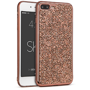 Estuche iPhone 7 Plus - Skin Rock Candy Rosa metálico 42-0068036 - Accesorios y repuestos Celular Cellairis
