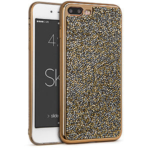 Estuche iPhone 7 Plus - Skin Rock Candy Dorado 42-0068040 - Accesorios y repuestos Celular Cellairis