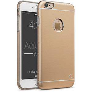 Estuche iPhone 6/S+ - Aero Metal Gold 50-0076059 - Accesorios y repuestos Celular Cellairis