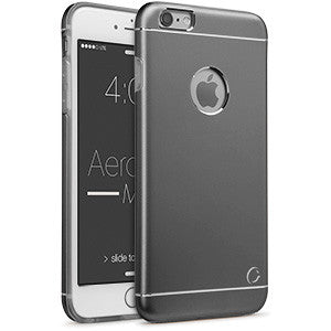 Estuche iPhone 6/S+ - Aero Metal Space Gray 50-0076061 - Accesorios y repuestos Celular Cellairis