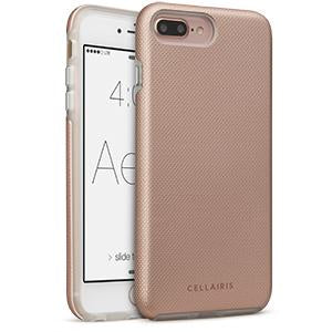 PHONE 7 PLUS/ 8 PLUS - AERO GRIP ROSE GOLD 50-0078013 - Accesorios y repuestos Celular Cellairis