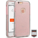 IPHONE 6/S+ - RAPTURE CLEAR SILVER GLITTER/PINK 81-0020031 - Accesorios y repuestos Celular Cellairis