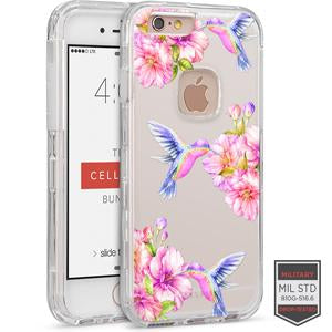 IPHONE 6/ 6S - RAPTURE CLEAR FLORAL HUMMINGBIRD 81-0010113 - Accesorios y repuestos Celular Cellairis