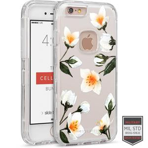 IPHONE 6/ 6S - RAPTURE CLEAR FLORAL JASMINE 81-0010114 - Accesorios y repuestos Celular Cellairis