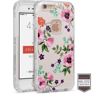 IPHONE 6/ 6S - RAPTURE CLEAR FLORAL POPPY 81-0010116 - Accesorios y repuestos Celular Cellairis